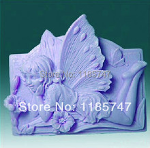 classical baby angel shape soap mold silicone mold silicone soap mould