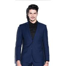 Blue men suits jacket high quality men's wedding tuxedos jacket latest design stylish formal business suits jacket