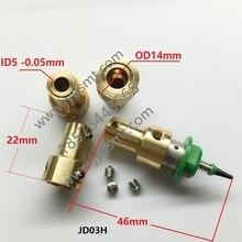 SMT MEME TUTUCU 5mm motor özel konektör Nema8 içi boş mil step tutucu JUKI MEME