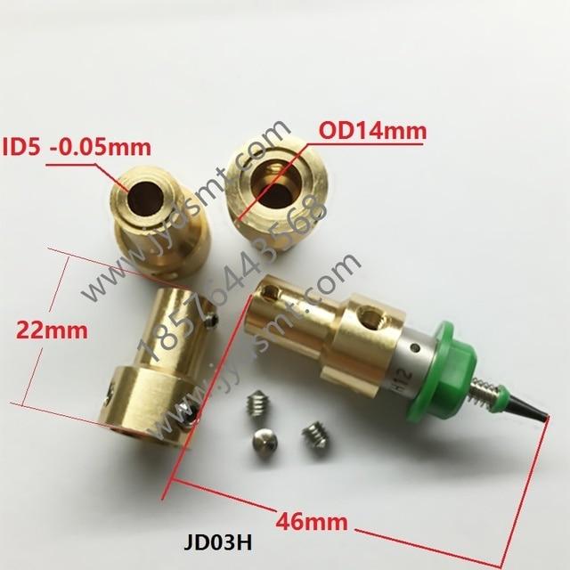 Soporte de boquilla SMT 5mm conector especial de motor Nema8 eje hueco soporte de motor de pasos para boquilla JUKI