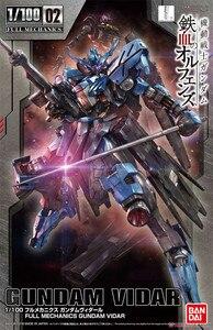 Image 1 - Bandai Gundam HG IBO TV 1/100 Full Mechanics Vidar Mobile Suit Assemble Model Kits Anime Action Figures Toys for children Gift