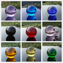 4CM Multicolor Asian Quartz Crystal Glass Ball Feng shui Magic Healing Crystals Balls Sphere Decorating gemstone Figurines