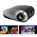 Mini LED Proyector Portátil Home Cinema Multimedia Teatro HDMI SD AV VGA TV para PC Portátil de DVD USB Smartphone EE.UU. Plug Negro