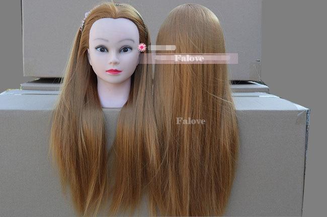 2015 Hot Training Head 10 Human Hair Head Model