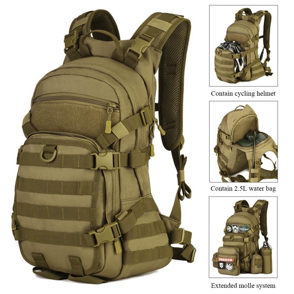 Protecteur Plus escalade randonnée sac militaire sac à dos sac à dos 25L extérieur sac à dos Camping sac à dos étanche caractéristiques:-M