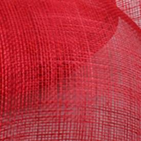 Элегантные шляпки из соломки синамей с вуалеткой хорошие Свадебные шляпы высокого качества женские коктейльные шляпы очень красивые несколько цветов MSF104 - Цвет: Красный