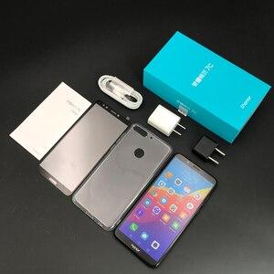 Image 2 - Original Honor 7C 5,99 pulgadas Snapdragon 450 Octa Core frente 8.0MP Dual cámara trasera 3000mAh huella dactilar