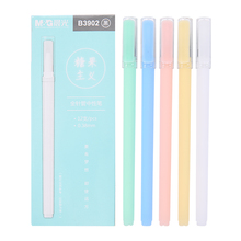 цены 12pcs/lot 0.38mm Sweet Candy Color Gel Pen Promotional Gift Stationery School & Office Supply