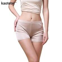 100% Silk Women's Panties Women Seamless Knickers Ladies Sexy Underwear Femme Lingerie Calcinh Calzoncillos Woman Underpants