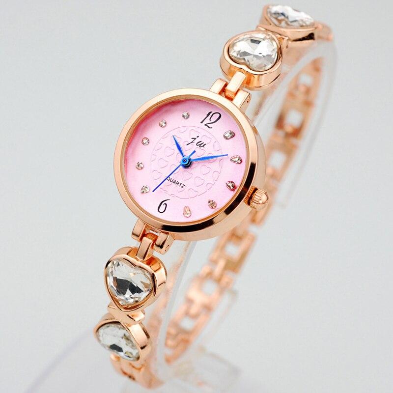 Lady Simple Watch Women Gold Pink Bracelet With Metal Wristwatch Brand Rhinestones Quartz Clock Montre Femme Ceasuri Hodinky 22 new and original mig30j502l 2pcs lot