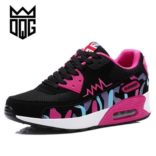 DQG Air Cushion Damens's Running Running Damens's Schuhes Height Increasing Damens Sports ... 2fccc6