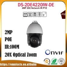 Hikvision CCTV PTZ 2MP IP camera DS-2DE4220IW-DE WDR ONVIF 20X Zoom 100m IR Night version Surveillance Speed Dome Camera