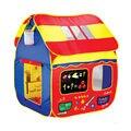 Grandes Crianças Brincar de Casinha Cabana Cabana Tenda Ao Ar Livre Indoor Grande Jogo Jogando Tent Playhouse Pop Bolas Oceano Jogando Sinuca