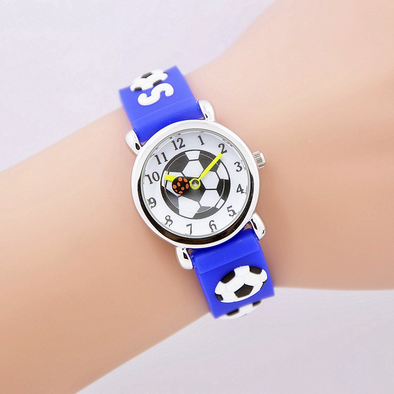 Relojes Mujer 2016 Children cartoon watch Brand Quartz Watch For Girls Boys Waterproof Kid Watches Football Fashion Casual Reloj