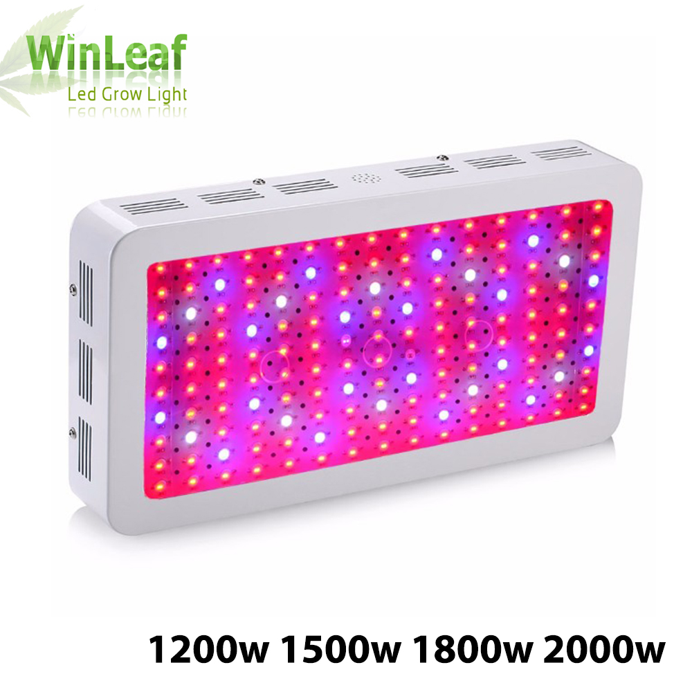 led grow plant lamp Double Chips Full Spectrum 1200W 1500W 1800W 410-730nm uv light for indoor plants LED grow light цена