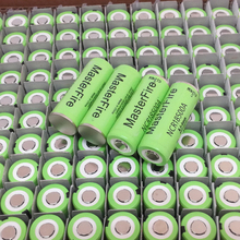 Wholesale MasterFire New Version 100% Original Battery For Panasonic 3.7V 18500 NCR18500A 2040mAh Rechargeable Lithium Batteries