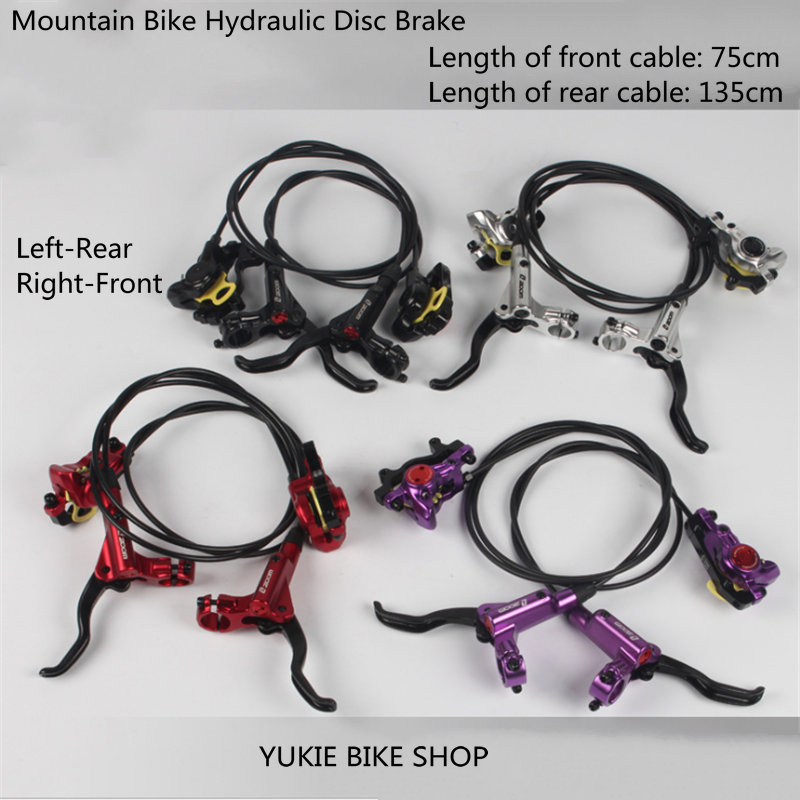 ZOOM <font><b>HB875</b></font> MTB Mountain Bike Hydraulic Disc Brake levers Calipers Front Rear Set image