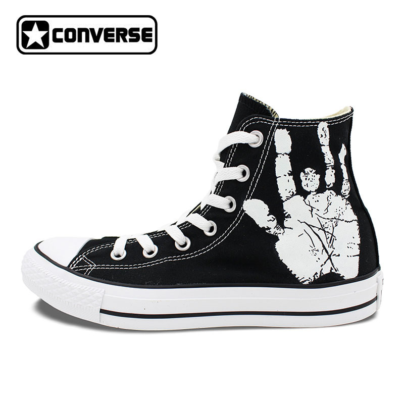 Men Women Converse All Star Skull Roses Custom Original Design Hand Painted Shoes Woman Man Sneaker Birthday Gifts sneakers men women converse all star anime fairy tail galaxy design custom hand painted shoes man woman christmas gifts