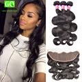 7A Malaysian Body Wave With Frontal Closure 13x4 Lace Frontal Closure With Bundles Cheap Human Hair Malaysian Body Wave