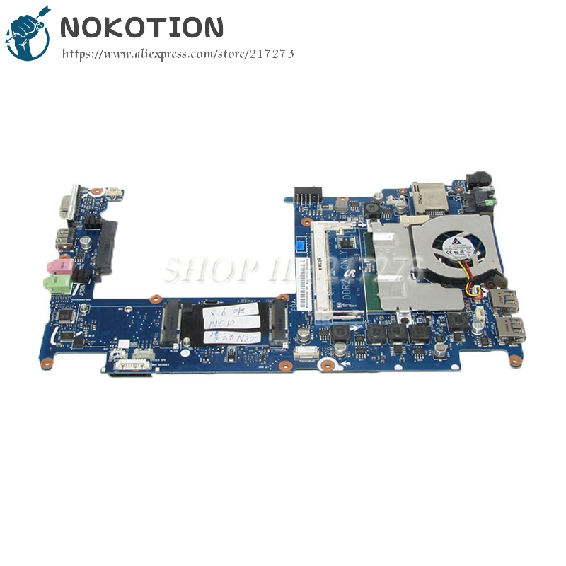 NOKOTION For samsung NP-NC10 NC10 Laptop motherboard 945GSE N270 CPU BA92-05331A BA92-05331B BA41-00975A BA41-00976A BA41-00977A for samsung np305v5c laptop motherboard ba92 08724a ba92 08724b ba41 01681a 100