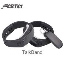 Смарт-браслеты talkband B1 Bluetooth гарнитура для наушников смарт-браслет Водонепроницаемый фитнес-трекер для IOS телефона Android
