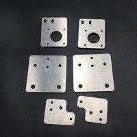 Funssor de alumínio tronxy x5s impressora 3d motor/montagem de pórtico placa peças kit para tronxy atualização da impressora 3d