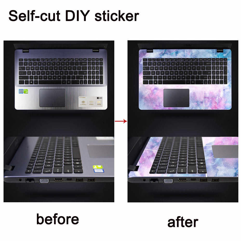 2019 DIY SelfCut Creativity Stickers Decorate Your Love Nest Laptops Computers Phones Refrigerators Decor DROPSHIP #1924