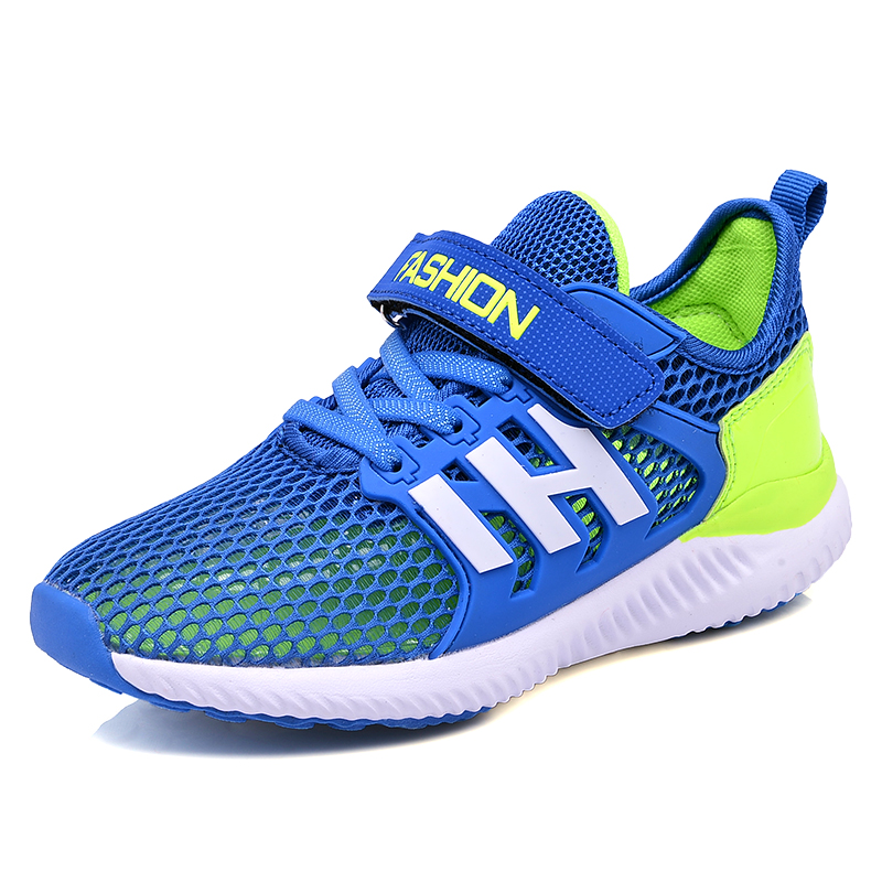 Children Causal Shoes Running Shoes For Boys Fashion Mesh Breathable Sport Sneakers Autumn Comfortable Kids Flats Shoes A-888