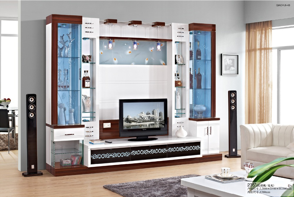 Furniture Fashion Tv Cabinet White Solid Wood French Style Storage Combination In Stands From On Aliexpress Alibaba