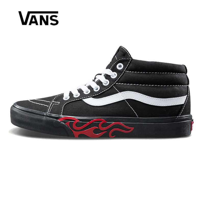 Original New Arrival Vans Men's & Women's Classic Sk8-Mid Reissue Skateboarding Shoes Sneakers Canvas Comfortable VN0A3MV8UQZ