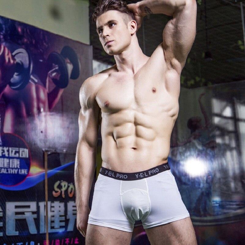YHSBUY 2018 Для мужчин тренировочные шорты центр быстрое высыхание брюки дышащий гибкие тренировки про шорты, HC061