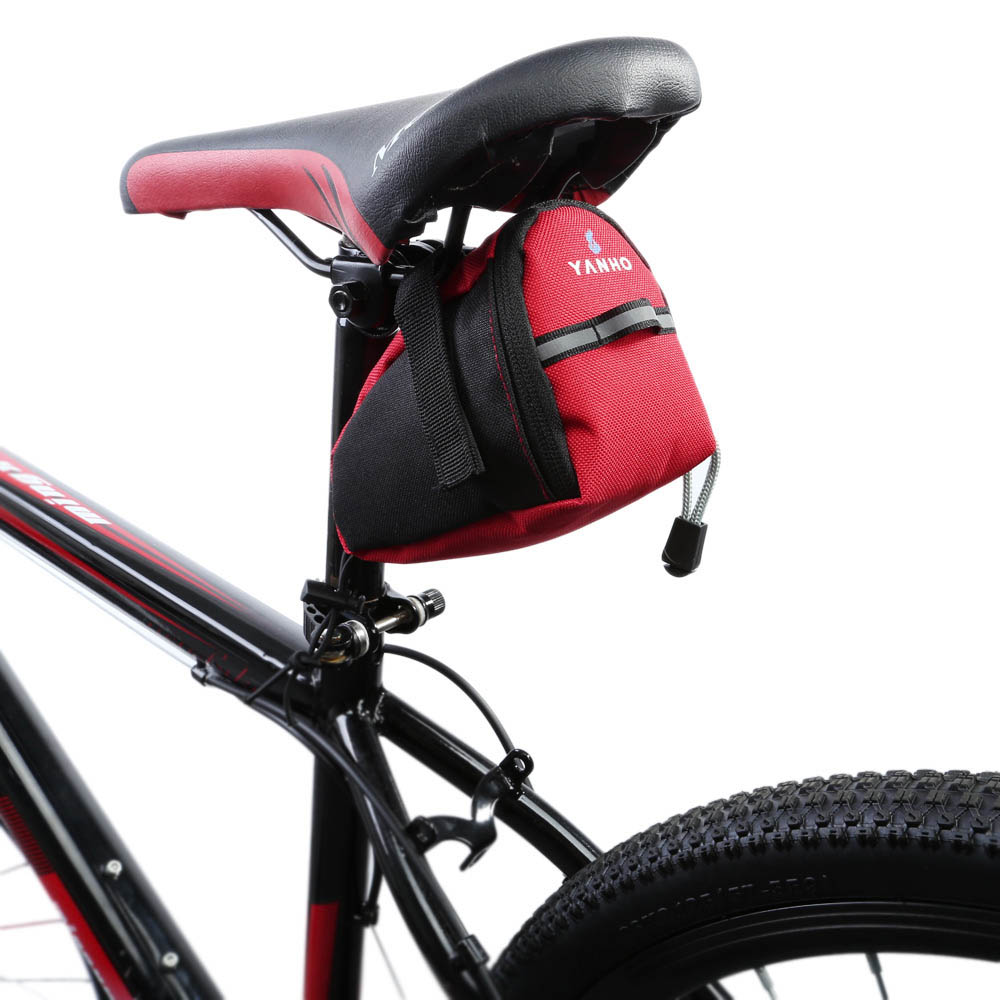 Outdoor Bike Bicycle Cycling Saddle Tail Rear Pannier Pouch Seat Storage Bag