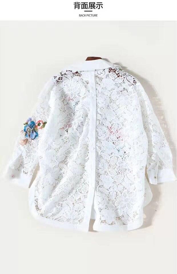 Piste Mode Partie Européenne Style De 2019 Blouses Femmes Vêtements amp; Design Ah02677 Luxe Chemises HY6n4WnP