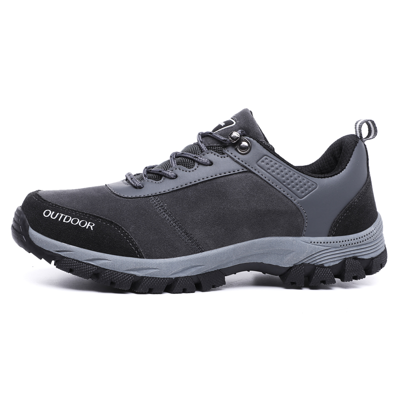 Hiking Shoes Man Waterproof Hiking Sneakers Warm High Top Mountain Climbing Camping Shoes Trekking Hunting Footwear Big Size in Hiking Shoes from Sports Entertainment