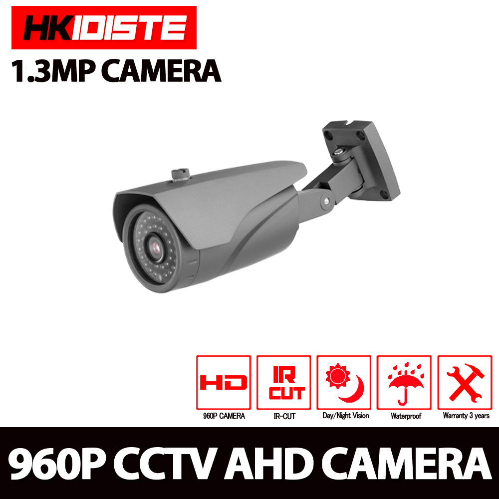 HKIXDISTE 1.3MP CCTV AHD Camera 960P Outdoor IR-CUT Security Camera Waterproof 3.6mm Night Vision Home Surveillance CCTV CameraHKIXDISTE 1.3MP CCTV AHD Camera 960P Outdoor IR-CUT Security Camera Waterproof 3.6mm Night Vision Home Surveillance CCTV Camera