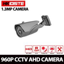HKIXDISTE 1.3MP CCTV AHD Camera 960P Outdoor IR-CUT Security Camera Waterproof 3.6mm Night Vision Home Surveillance CCTV Camera