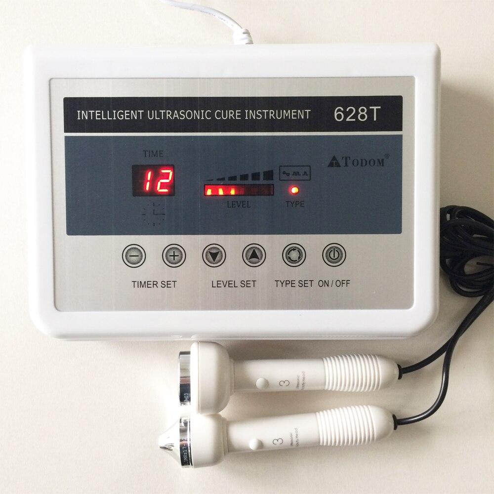 Ultrasonic Facial Massage Machine Face Body Skin Anti Wrinkle High Frequency Ultrasound Massager Spa Salon Beauty