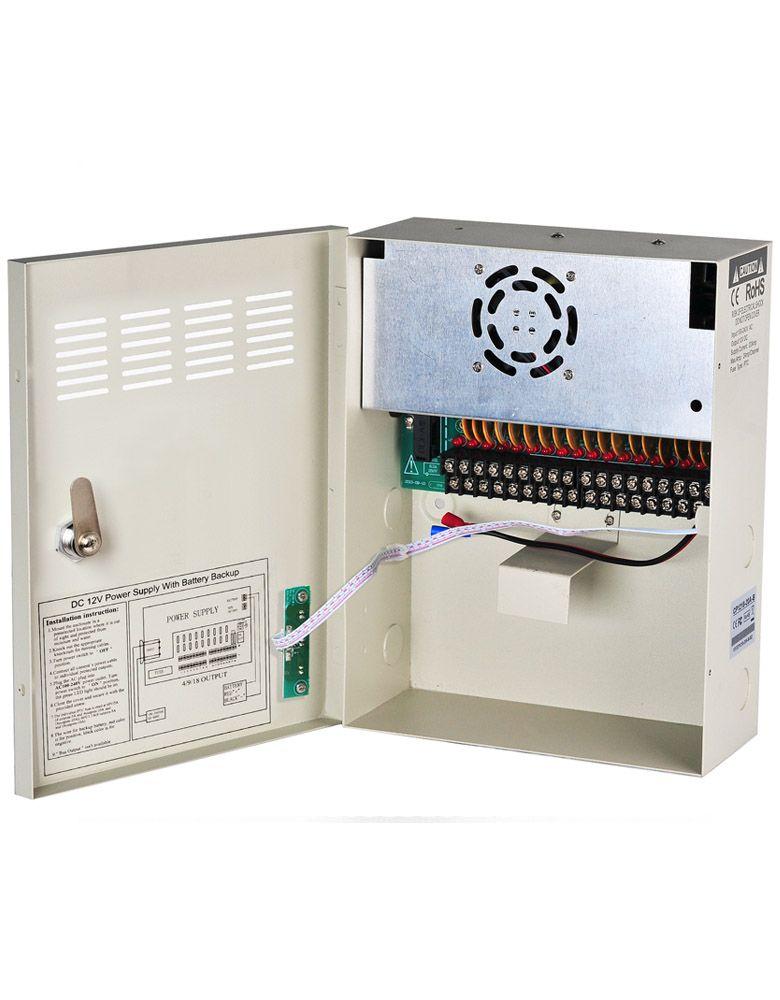 UPS для камер безопасности DC 12 В V 20A 18 каналов бесперебойного питания