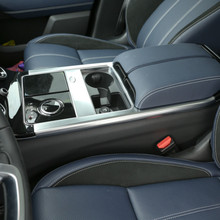 ABS Chrome Matte Inner Center Console Gear Shift Frame Trim For Land Rover Range Rover Velar 2017-2018 Car Accessories