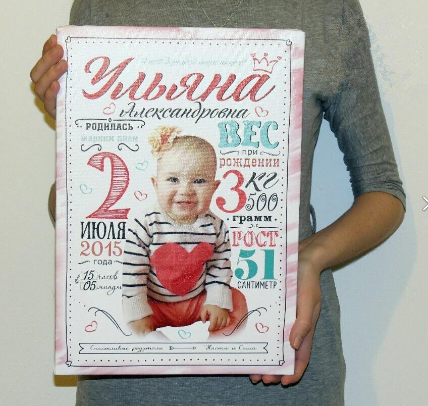 Photo Custom!  Baby photo custom baby diamond painting 5D DIY childrens commemorative gift