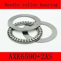 65X90X3mm AXK6590 2AS Thrust Needle Roller Bearing AXK6590TN Just For Sales Volume