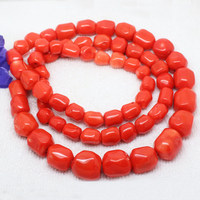 10 20mm Orange Coral Smooth Gradually Freeform Loose Beads 35 ,we provide mixed wholesale for all items !