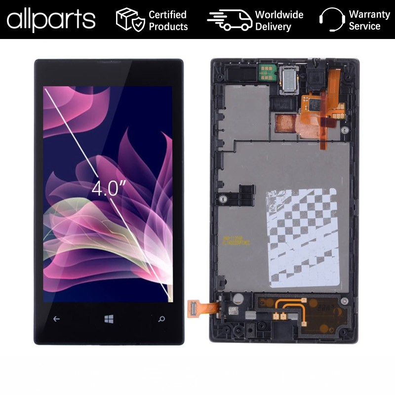 ORIGINAL 4 '' For NOKIA lumia 520 LCD Touch Screen For NOKIA lumia 520 Display Digitizer Assembly Replacement N520