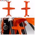 Orange Plastic Frok Support Motorcycles Universal Fork Brace Stand Protector For KTM EXCF/SXF/SMR/EXC/SX/SC 250/300/350/450/530