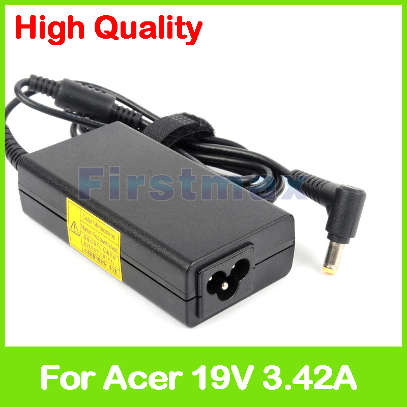 Ac adapter 19V 3.42A Laptop Charger For Acer Aspire 1300 power supply