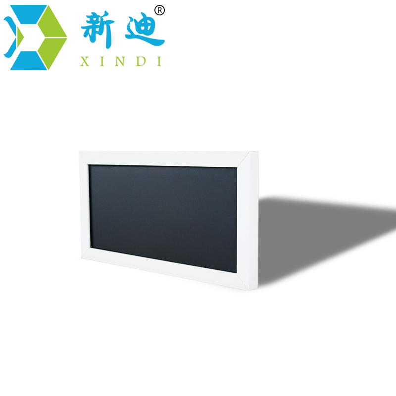 XINDI New Small Magnetic Wooden Blackboard For Notes MDF Frame 15*30cm Home Decorative Memo Chalk Board Free Shipping