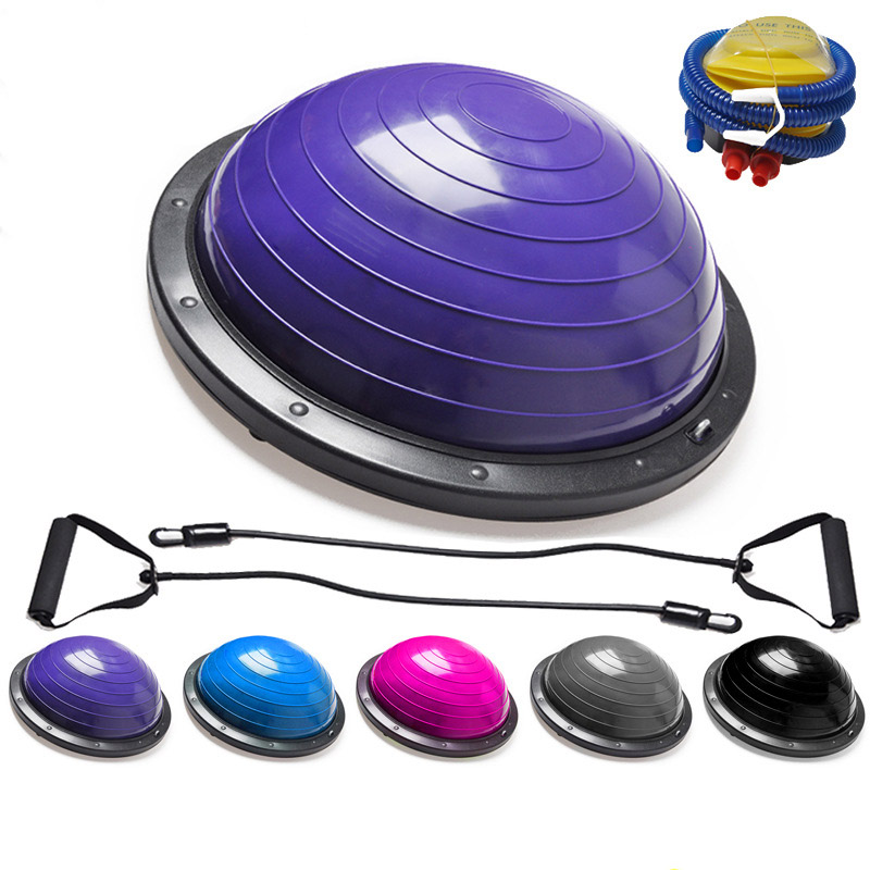 Remise en forme Semi-sphérique Yoga Hémisphère Boule D'équilibre Vague Vitesse Balle Fitness L'hémisphère