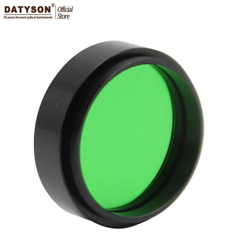 Datyson astro optics 천문학 망원경 접안 렌즈 용 1.25 인치 문 필터-금속 프레임-음력 행성 전망 향상