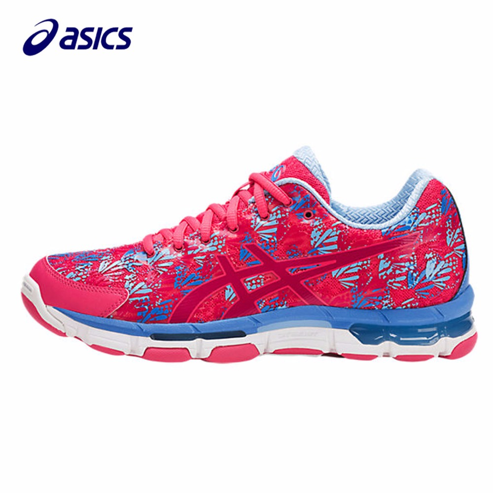 Orginal ASICS New Women Running Shoes  Breathable Stable Shoes outdoor Tennis shoes classic Leisure Non-slip R751N-1920