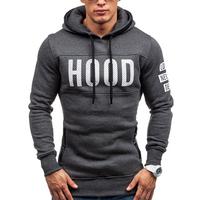 2018 hot new fashion men's   hoodie   slim casual   hoodie     sweatshirt   men's jacket winter jacket 2 colors